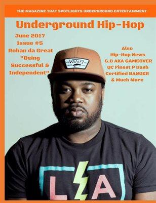 Underground Hip-Hop June Issue #5