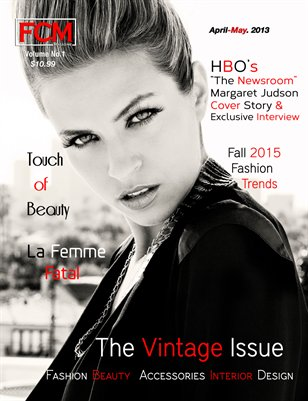 "Fashion Couture Magazine ""Vintage Issue"" Volume1, Issue No.8"