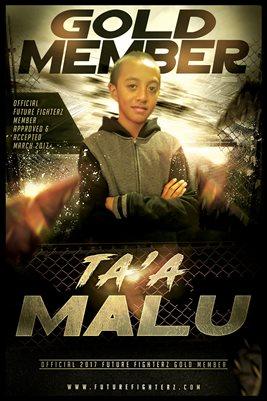 Ta'a Malu Gold Member/Diploma Poster