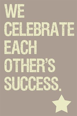 Classroom Norms: We Celebrate Each Other's Success