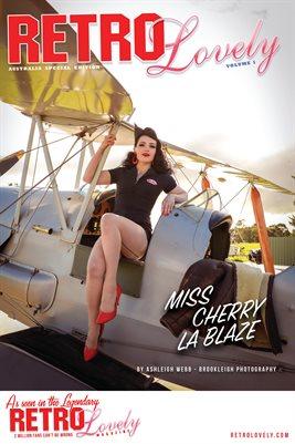 MISS CHERRY LA BLAZE Cover Poster