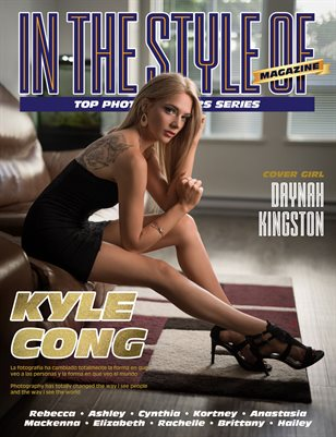 IN THE STYLE OF KAYLE KONG MAGAZINE