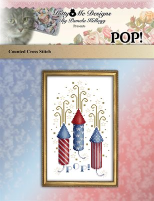 Pop! Cross Stitch Pattern