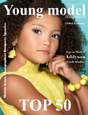 Young Model Magazine Issue 11 Volume 4 2020 OCTOBER TOP 50