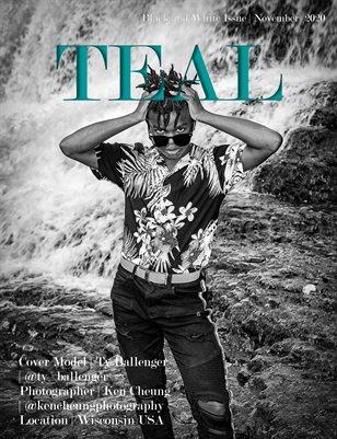 Teal Magazine Black and White Issue November 2020