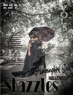 Shazzles Halloween Issue #74 VOL. 5 Cover Model Hummingbird Geek