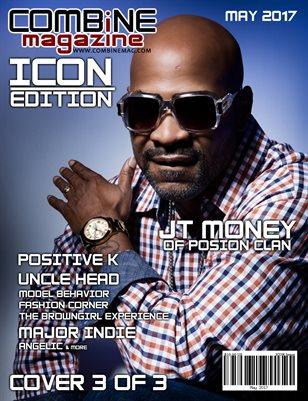 COMBiNE Magazine ICON Issue (Cover 3)