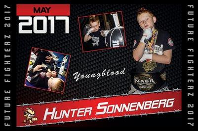 Hunter Sonnenberg Cal Poster 2017