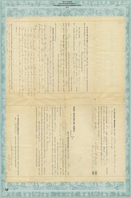 1884 Mortgage, Beverly to Haley, Miami County, Ohio