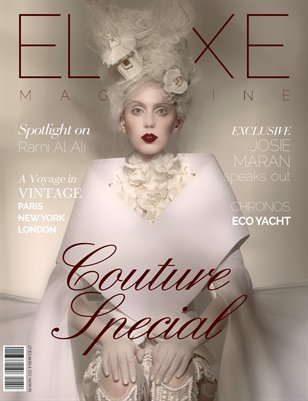 Eluxe Magazine Issue 2 Couture