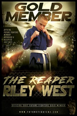 Riley West Gold Diploma Poster