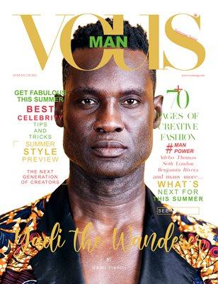 VOUS Magazine | The Man Edition | Vol.2 | June 2021