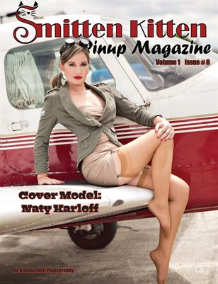 Smitten Kitten Pinup Magazine Cover 2 Naty Karloff June 2020 Issue