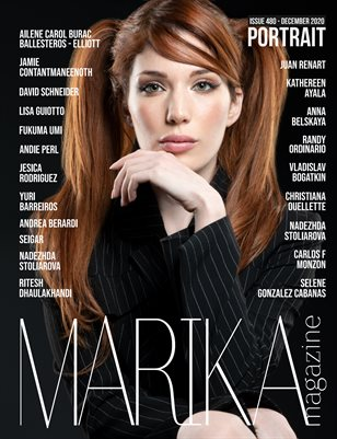 MARIKA MAGAZINE PORTRAIT (DECEMBER - ISSUE 480)