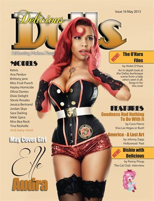 Delicious Dolls May 2013 Issue #16 - Elle Audra Cover