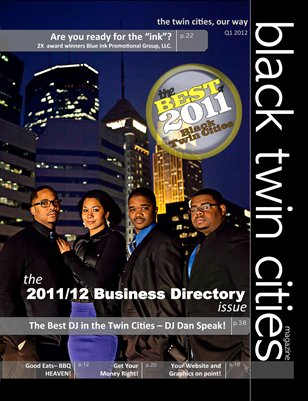 Best of Black Twin Cities & 2011/2012 Business Directory Issue