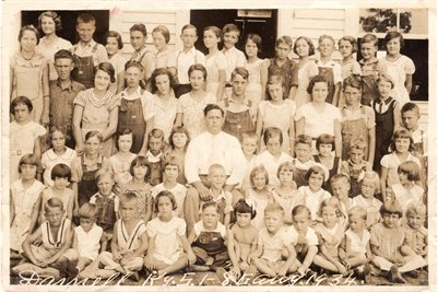 1934 Darnall School, Marshall County, Kentucky