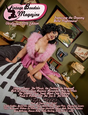 Vintage Boudoir Magazine Presents: Vivalicious 2016 Edition