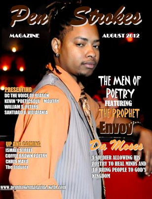 PEN STROKES MAGAZINE MEN OF POETRY JEREMY BANKS COVER