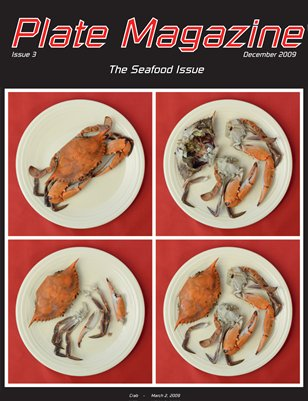 Plate Magazine #3 - The Seafood Issue