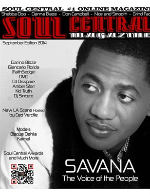 Soul Central Magazine September Edition 2014