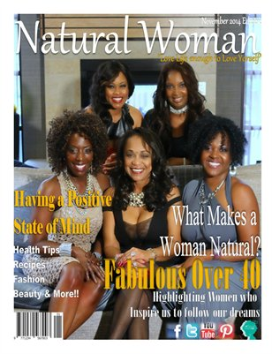 Natural Woman Magazine:  Fabulous Over 40