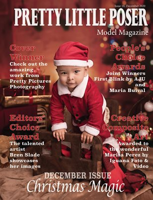 Pretty Little Poser Model Magazine - Issue 10 - Christmas Magic
