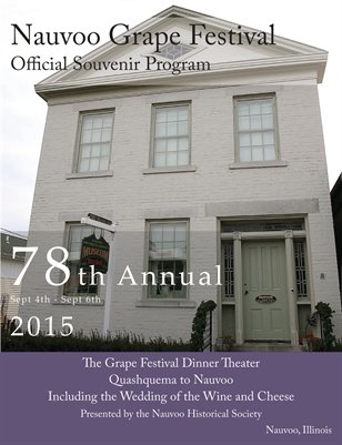 Nauvoo Grape Festival Program 2015