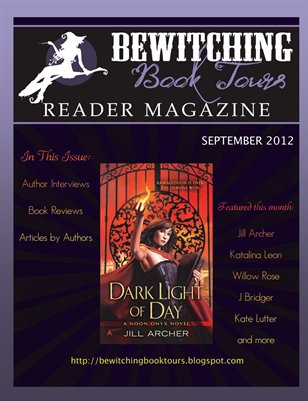 Bewitching Book Tours Reader Magazine Issue 3 September 2012