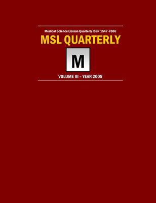 MSLQ Volume 3 Year 2005