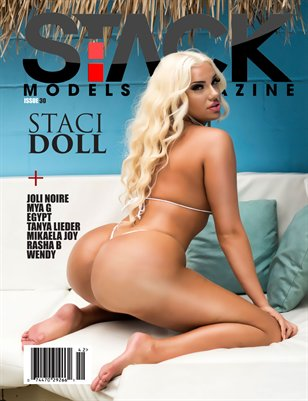 Stack Models Magazine Issue 30 Staci Doll Cover