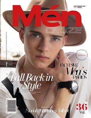 SEPTEMBER 2021 Issue (Vol: 36)   MEN CRUZE Magazine