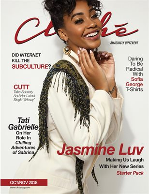 Cliché Magazine October/November (Jasmine Luv)