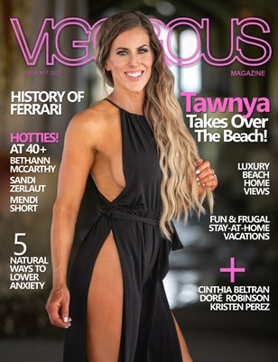 Vigorous Magazine Issue #17 - 2020 - Cover: Tawnya Cline