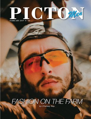 Picton Magazine FEBRUARY 2019 N40 MEN Cover 2