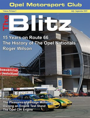 The Blitz, July-September 2019