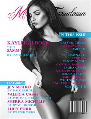 Model Throwdown Issue 9 - Kayleigh Rock Cover