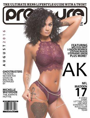 PRESSURE - Aug 2016 #23 (AK)