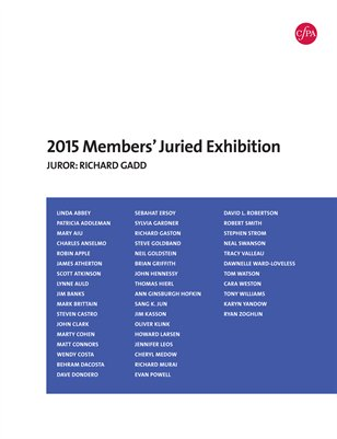 CPA 2015 Members Juried Exhibition