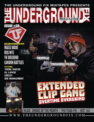 The Underground Fix Magazine Issue #30