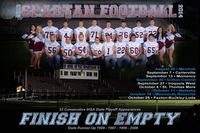 2013 SJO Football Wall Schedule