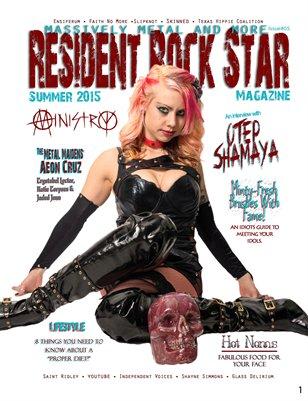 #05 Summer 2015 Resident Rock Star Magazine