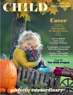 Child Couture magazine issue 11 volume 9 2019 The Giving Issue