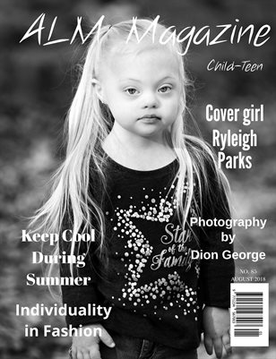 "ALM Child-Teen Magazine, ""15 Most Beautiful,"" Issue 85, August 2018-2"