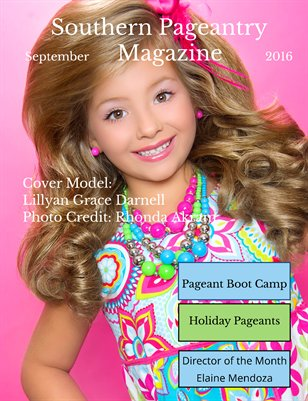 Southern Pageantry Magazine-September Issue
