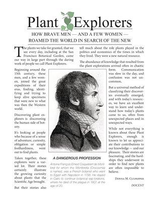 2013 Plant Explorers