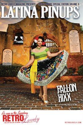 Latina Pinups Special Edition Vol.5 – Fallon Hixx Cover Poster