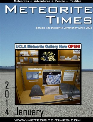 Meteorite Times Magazine - January 2014 Issue