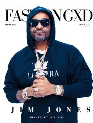 "Fashion Gxd Magazine ""Spring 2021"" (Hip Hop Icon Jim Jones)"
