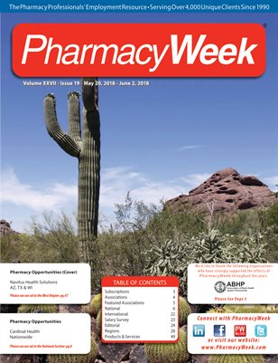 Pharmacy Week, Volume XXVII - Issue 19 - May 20, 2018 - June 2, 2018
